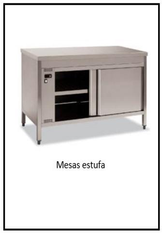 mesas estufa